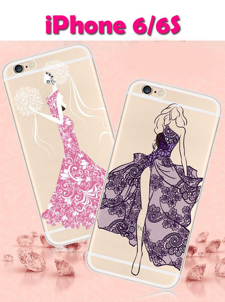 iPhone 6/6S Lace Series Silicon Case
