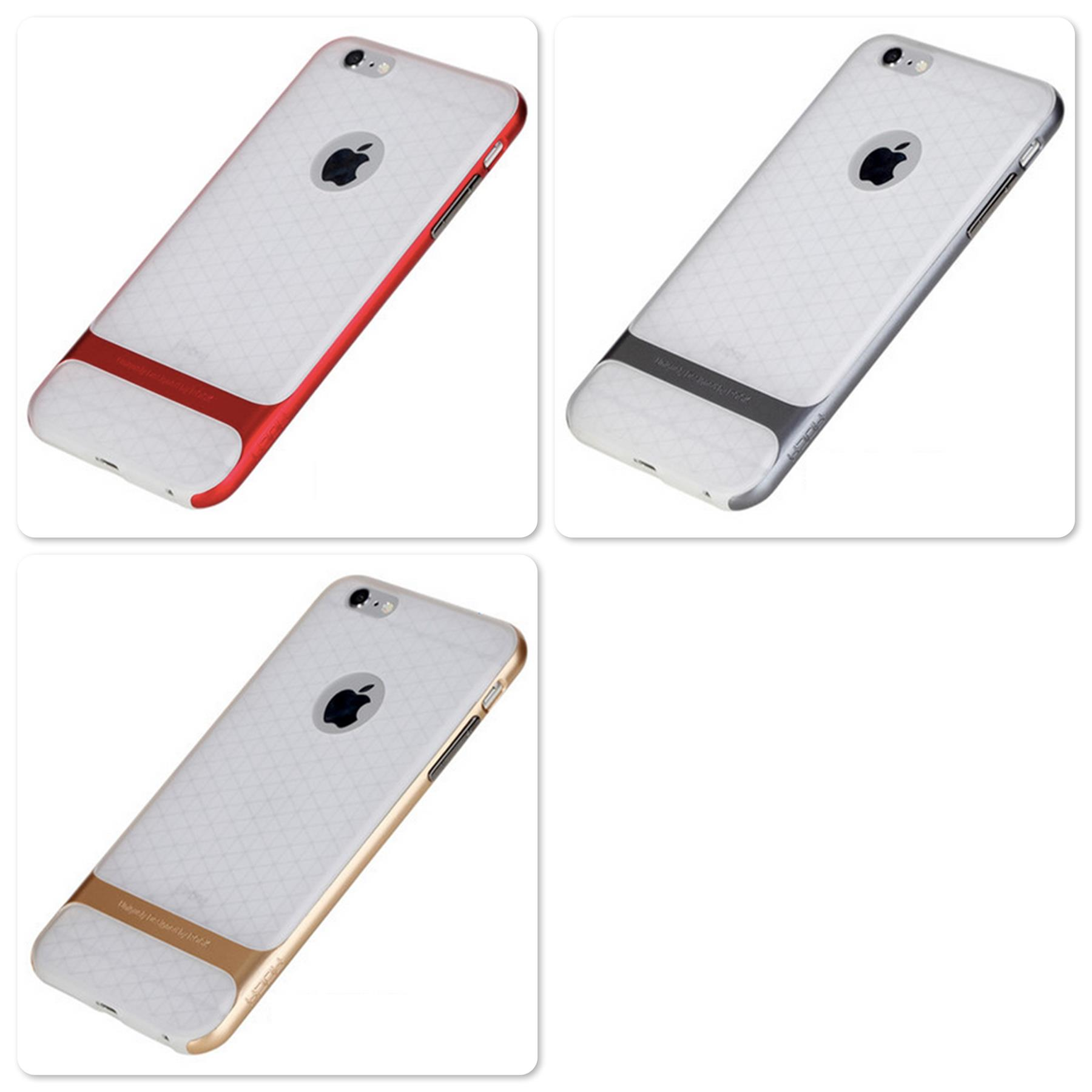 iPhone 6 Plus 5.5' Rock Royce series Ultra Thin Transparent Back Cover