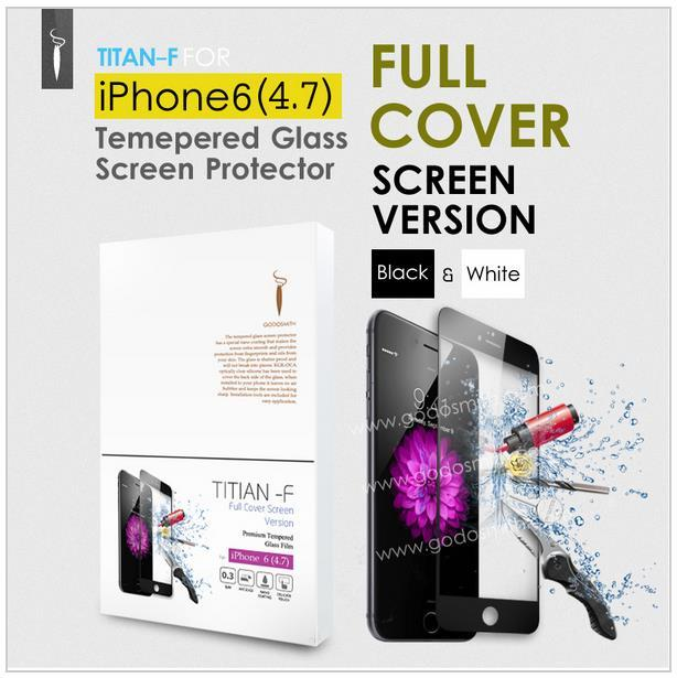 Iphone 6 Tempered Glass TITAN (FULL VERSION) Original By Godosmith