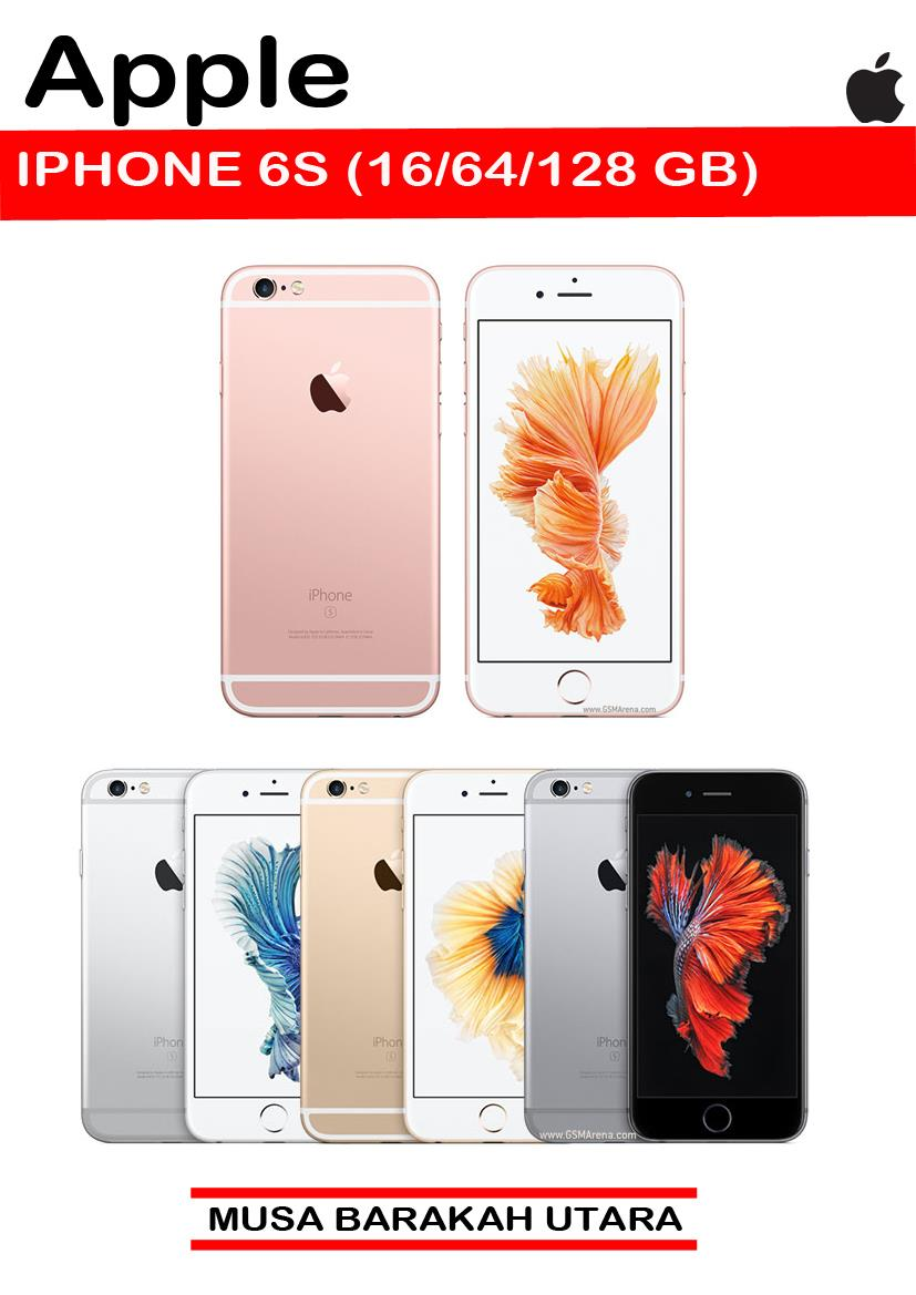 IPHONE 6S 16/64/128GB ORIGINAL +free tempered glass+ case - 21/12/2016