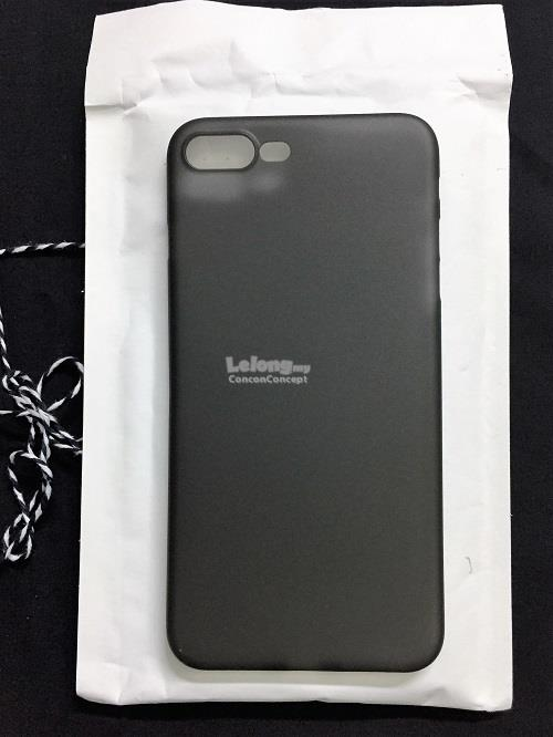 IPHONE 7 0.3mm Frosted Transparent Phone Casing