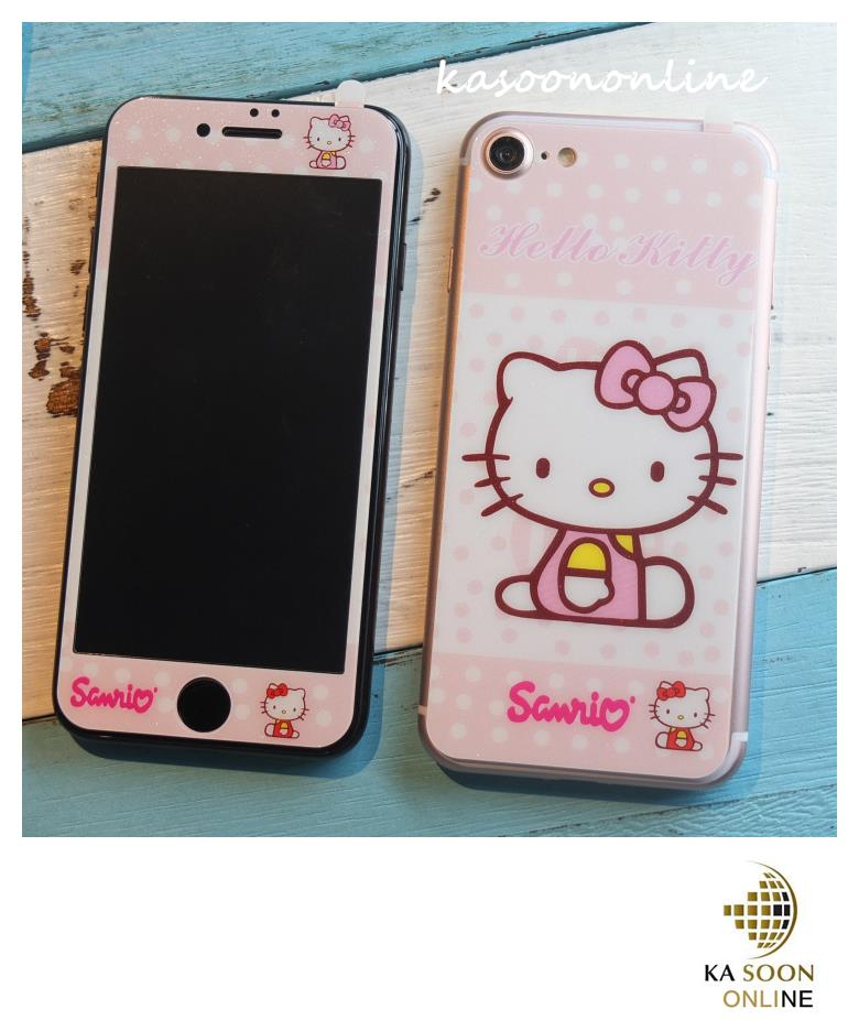 iPhone 7 4.7'', iPhone 7Plus 5.5'' Hello Kitty Tempered Glass