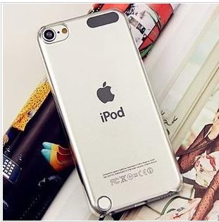IPOD TOUCH 5 TRANSPARENT HARD HANDPHONE CASE