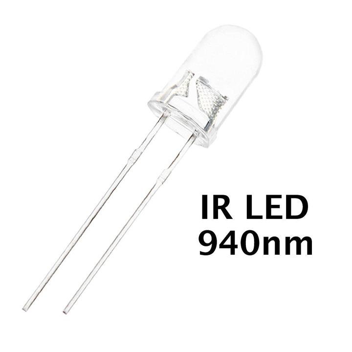 IR Transmitter 5mm (INFRARED TRANSMITTER LED)