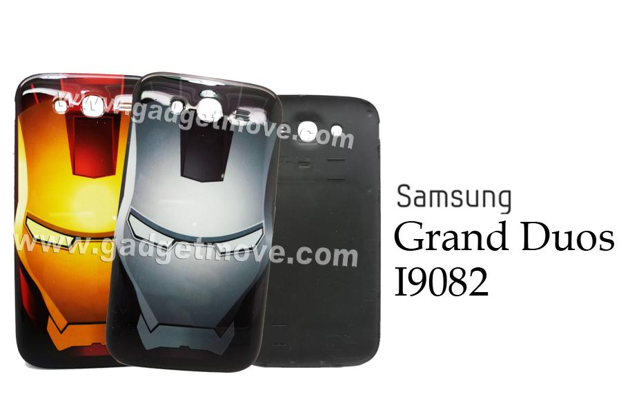 Iron Man IronMan SAMSUNG GALAXY Grand Duos Battery Back Cover Case TPU