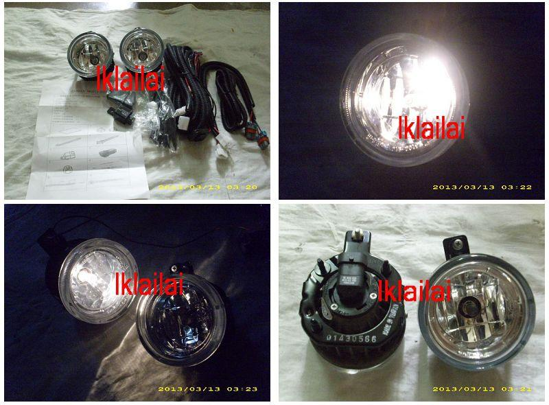 Isuzu D-Max `07 Fog Lamp Crystal W/Wiring + Switch [IS14-FL01-U]