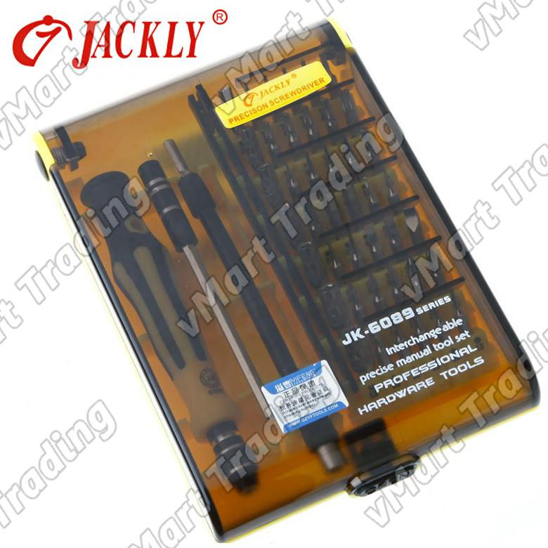 Jackly JK-6089C 45-in-1 Professional Precision Screwdrivers Tool Set