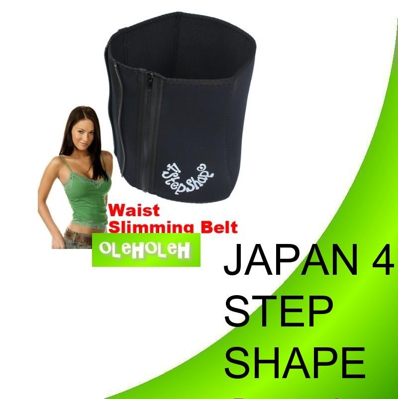 Japan 4 Step Shape Burner Tummy Slimming Belt
