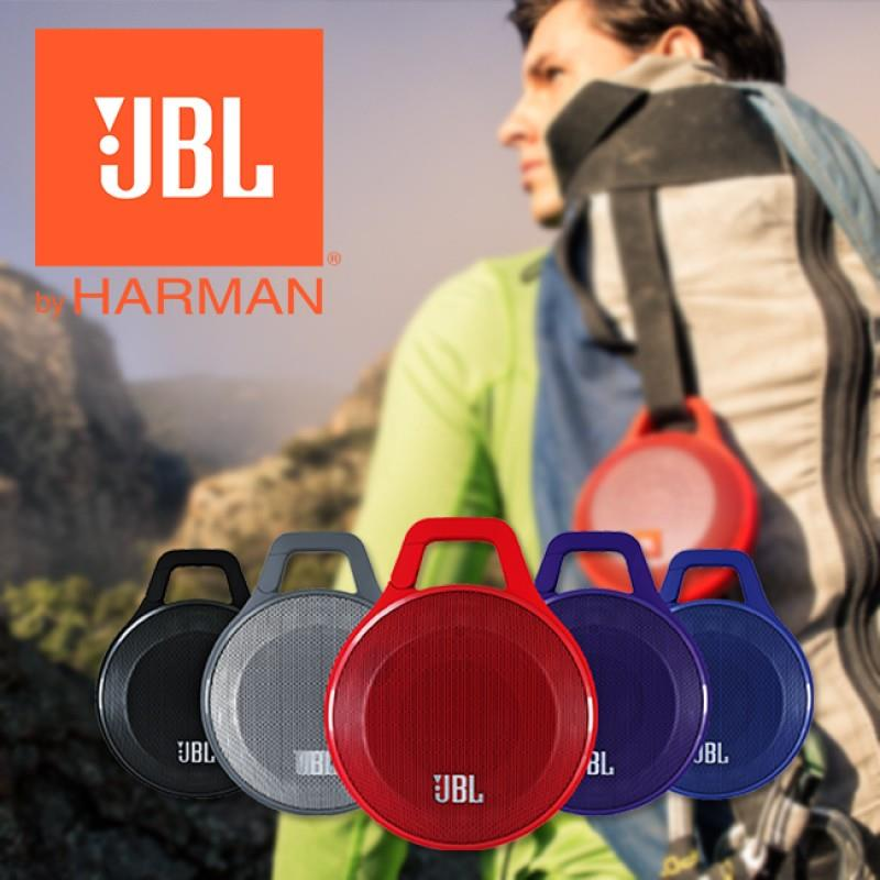JBL Clip Rechargeable Portable Bluetooth Wireless Speaker with Mic