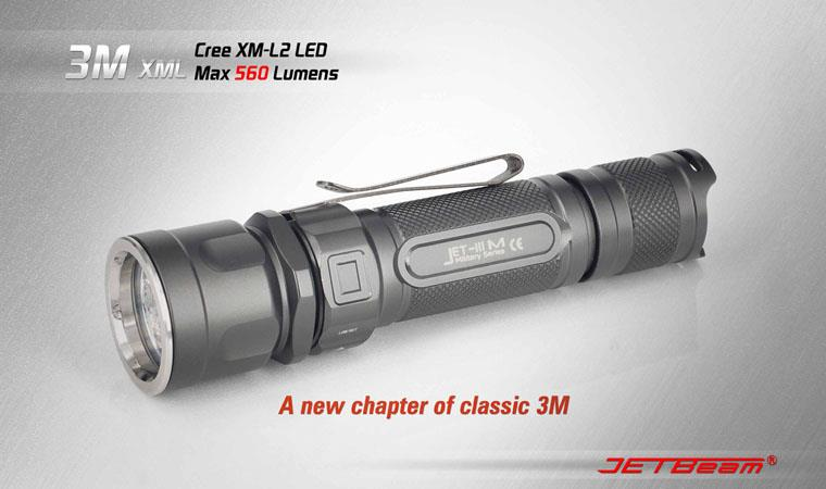 Jetbeam 3M LED Flashlight