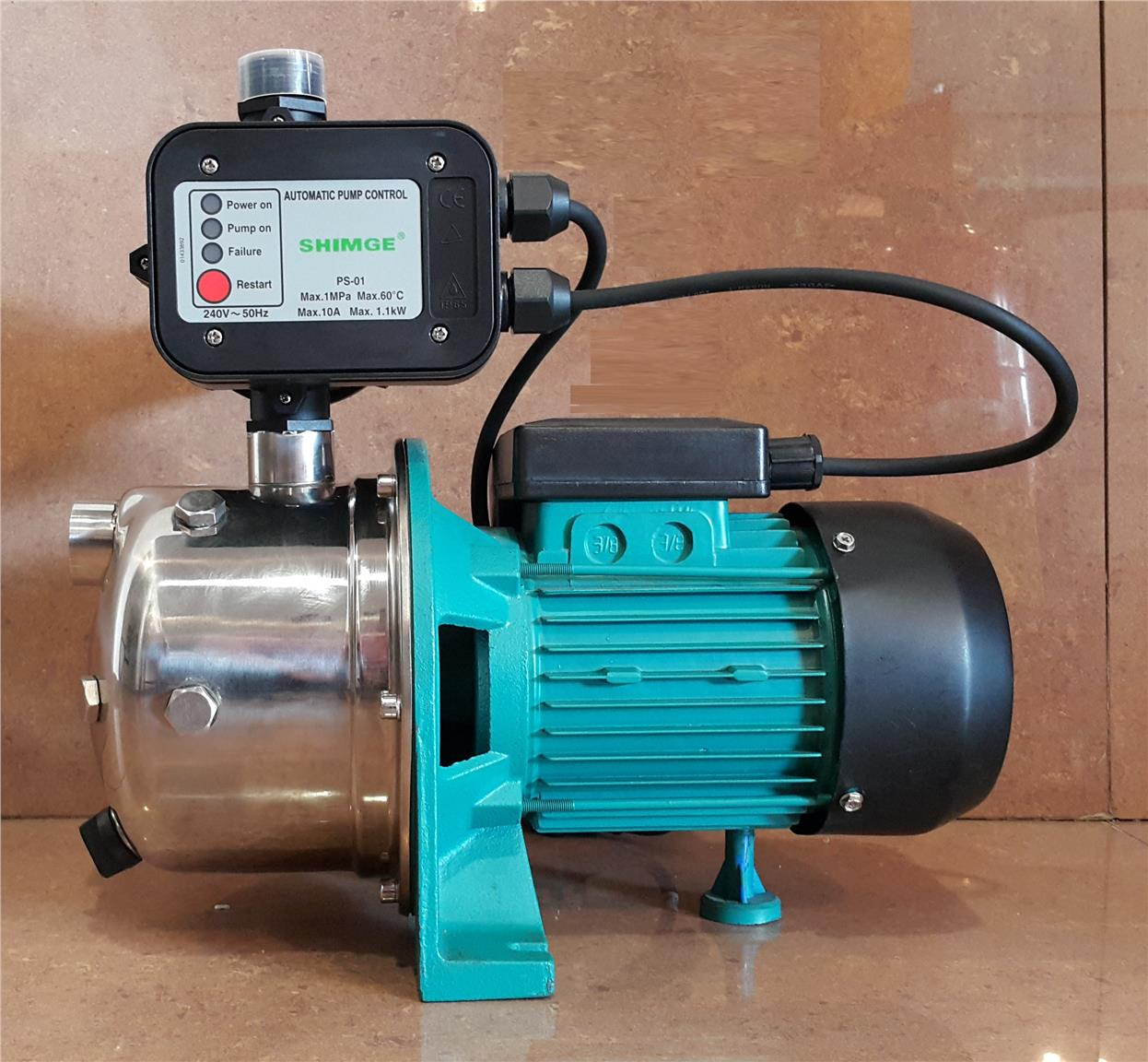 JETST-100 SS SELF PRIMING PUMP WITH CONTROL SWITCH ID662776