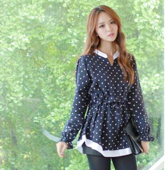 JF TF965 Fashion Long Sleeve Tops