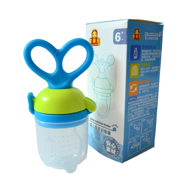 Jimmy Bear Baby Nutrition Feeder (Blue)