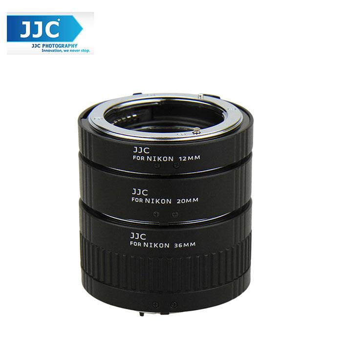 JJC AET-NS 12/20/36mm Auto Focus AF Macro Extension Tube Set for Nikon
