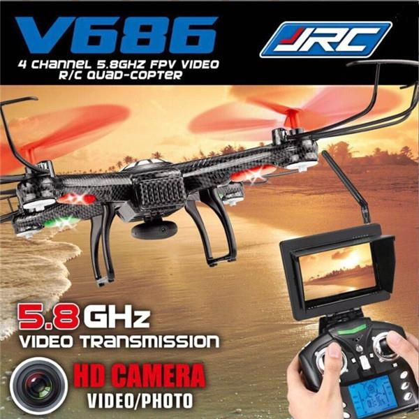 JJRC V686 5.8G FPV Headless Mode Drone with Camera Remote Control