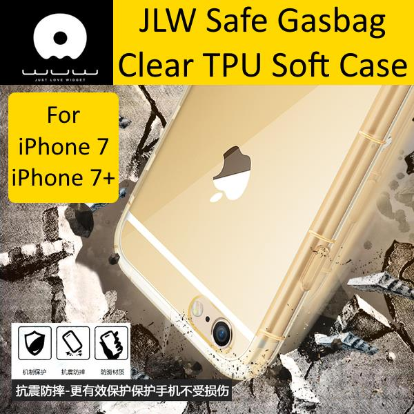 JLW iPhone 7/ iPhone 7 Plus Anti-Shock Transparent Soft TPU Case