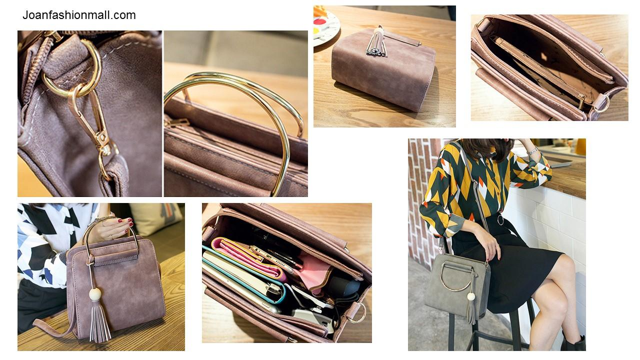[Joanfm] Retro Handbag Sling Bag