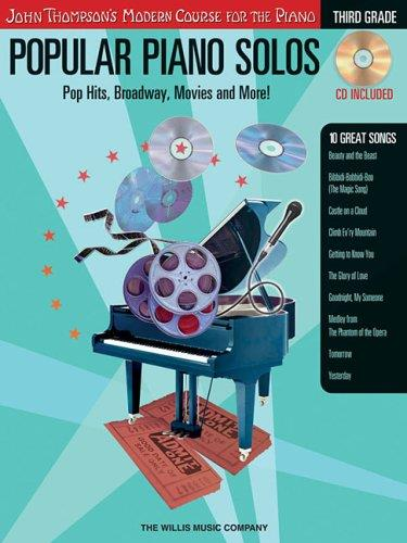 John Thompson Modern Course - Popular Piano Solos – 3rd Grade