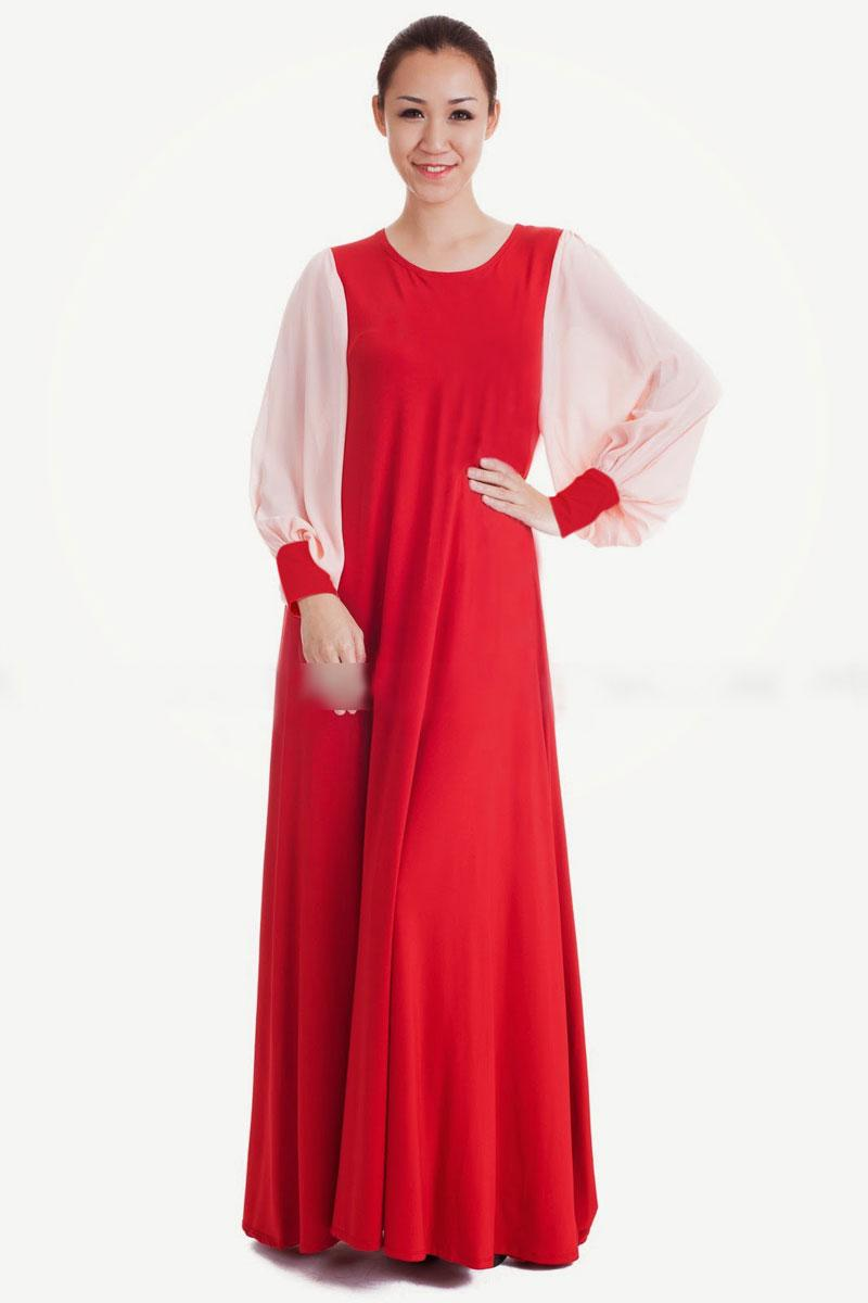 Modern dress design - Jubah Dress Modern Design Muslimah Wear Women Dress Free Pos
