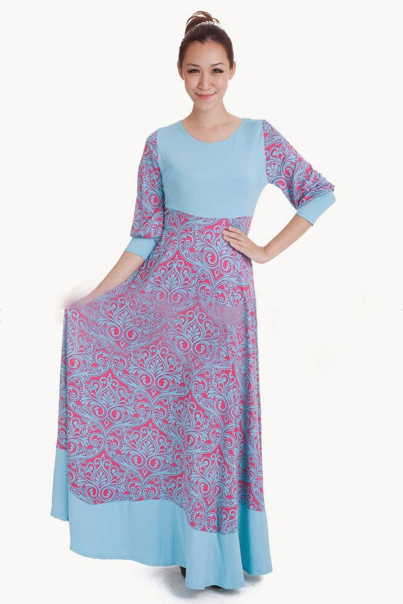 jubah dress muslimah 2013 jubah dress muslim down flora