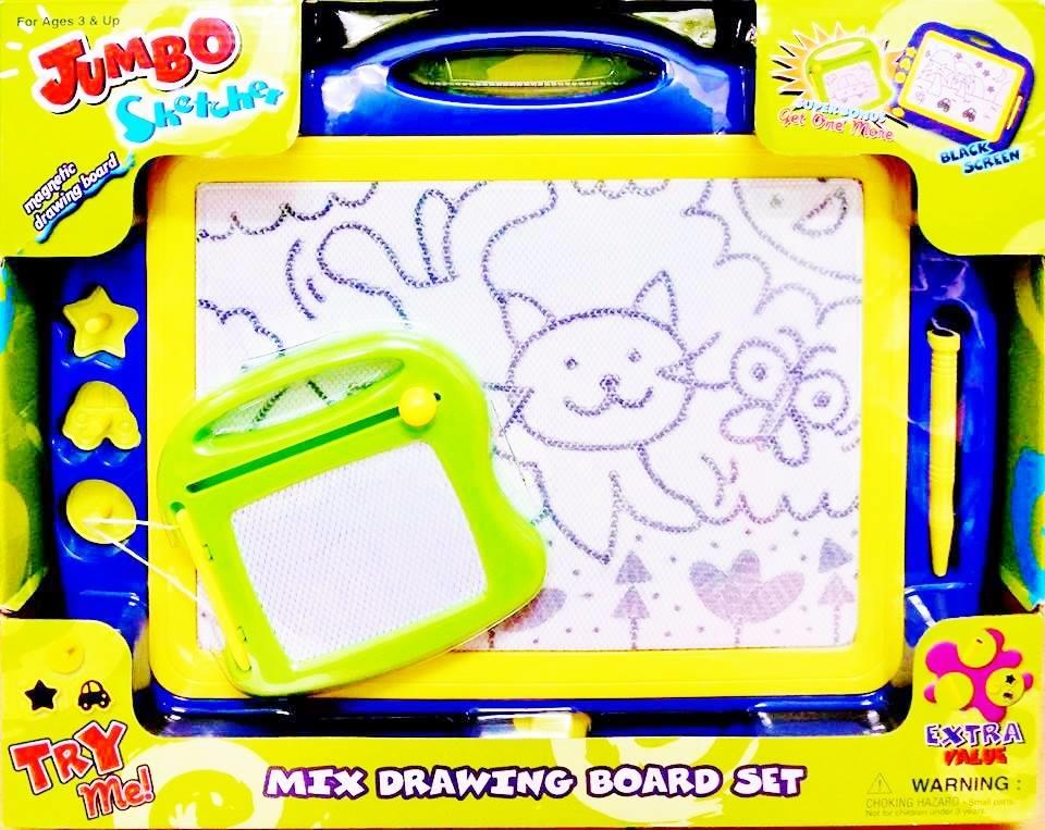 Jumbo Sketcher Magnetic Drawing Board (For Ages 3 Years +)