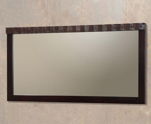 Jupiter Wooden Wall Mirror