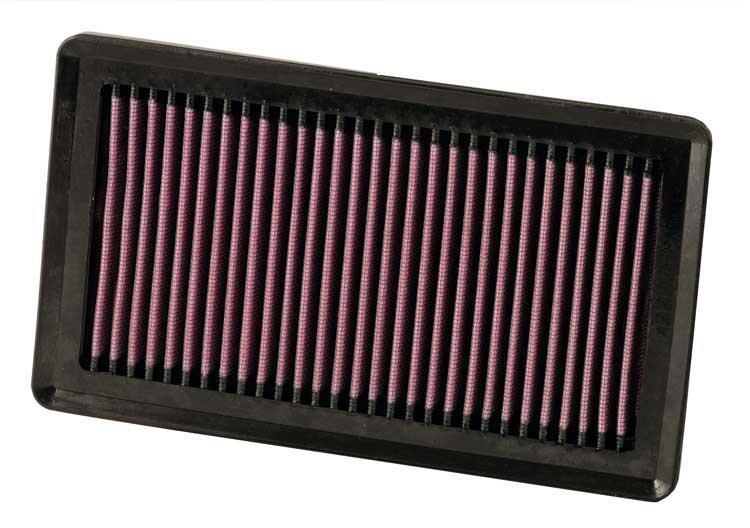 K&N HIGH FLOW DROP IN AIR FILTER NISSAN LATIO/SYLPHY/LIVINA/ALMERA 07+
