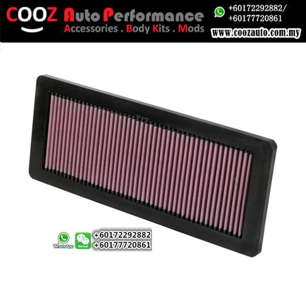 K&N HIGH FLOW DROP IN AIR FILTER PEUGETO 408 1.6 TURBO 2012+