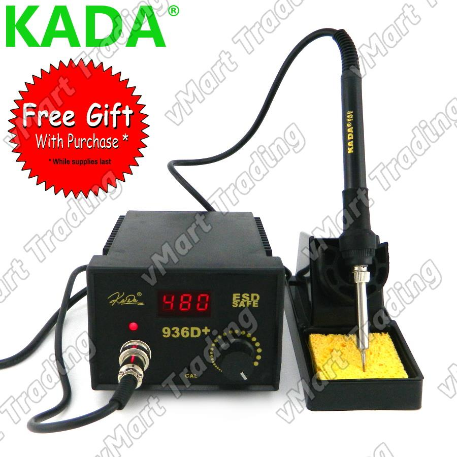 KADA 936D+ Digital 936 Soldering Station + FREE GIFTS