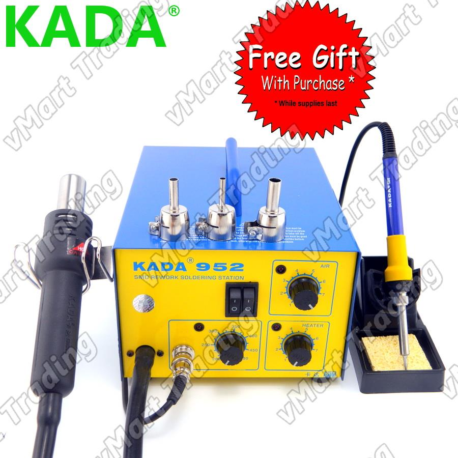 KADA 952 Soldering Iron + Diaphragm Pump Hot Air Rework Station