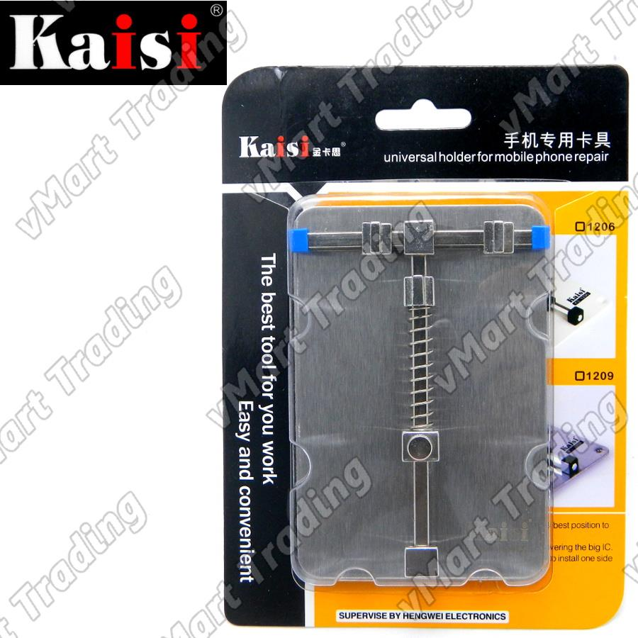 Kaisi K-1209 Stainless Steel Small PCB Holder Clamp