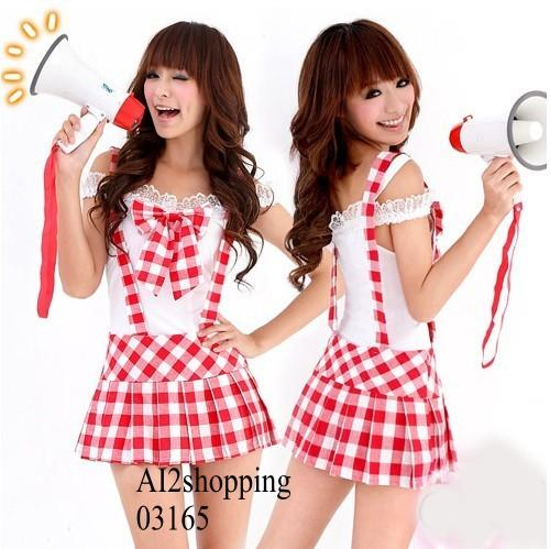 Kawaii fitted three-piece sling students 03165