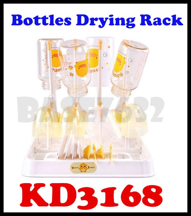 Keaide Biddy KD3168 Baby Newborn Bottle Drying Rack 16 Bottles