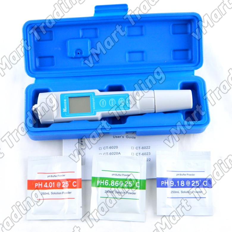 KEDIDA CT-6023 Digital pH Meter / Tester Kit [0.01pH resolution]