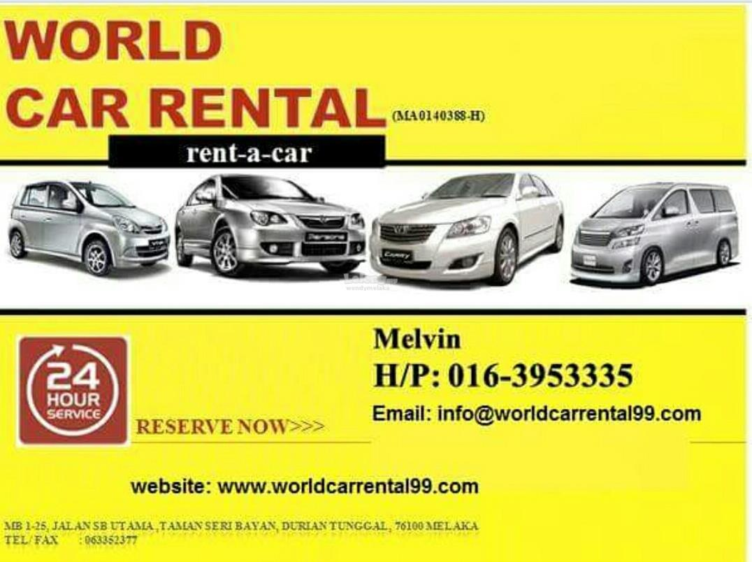 Image result for melaka car rental