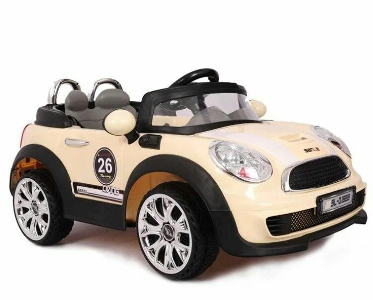 kids ride on electric car mini cooper style