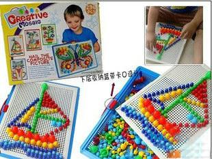 Kids Plastic Puzzle Toy~Creative Mosaic
