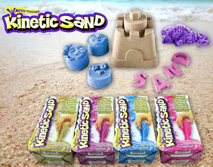 Kinetic Sand Play N Learn Natural Color A00123