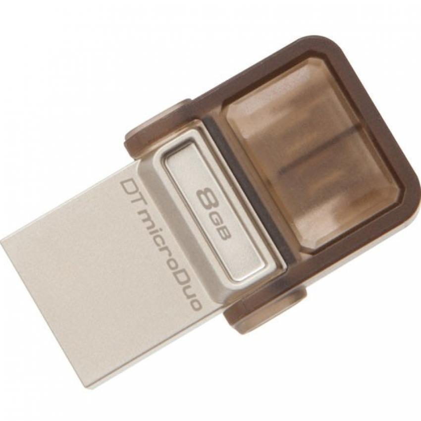 Kingston 8GB Data Traveler MicroDuo OTG USB2.0 Flash Drive