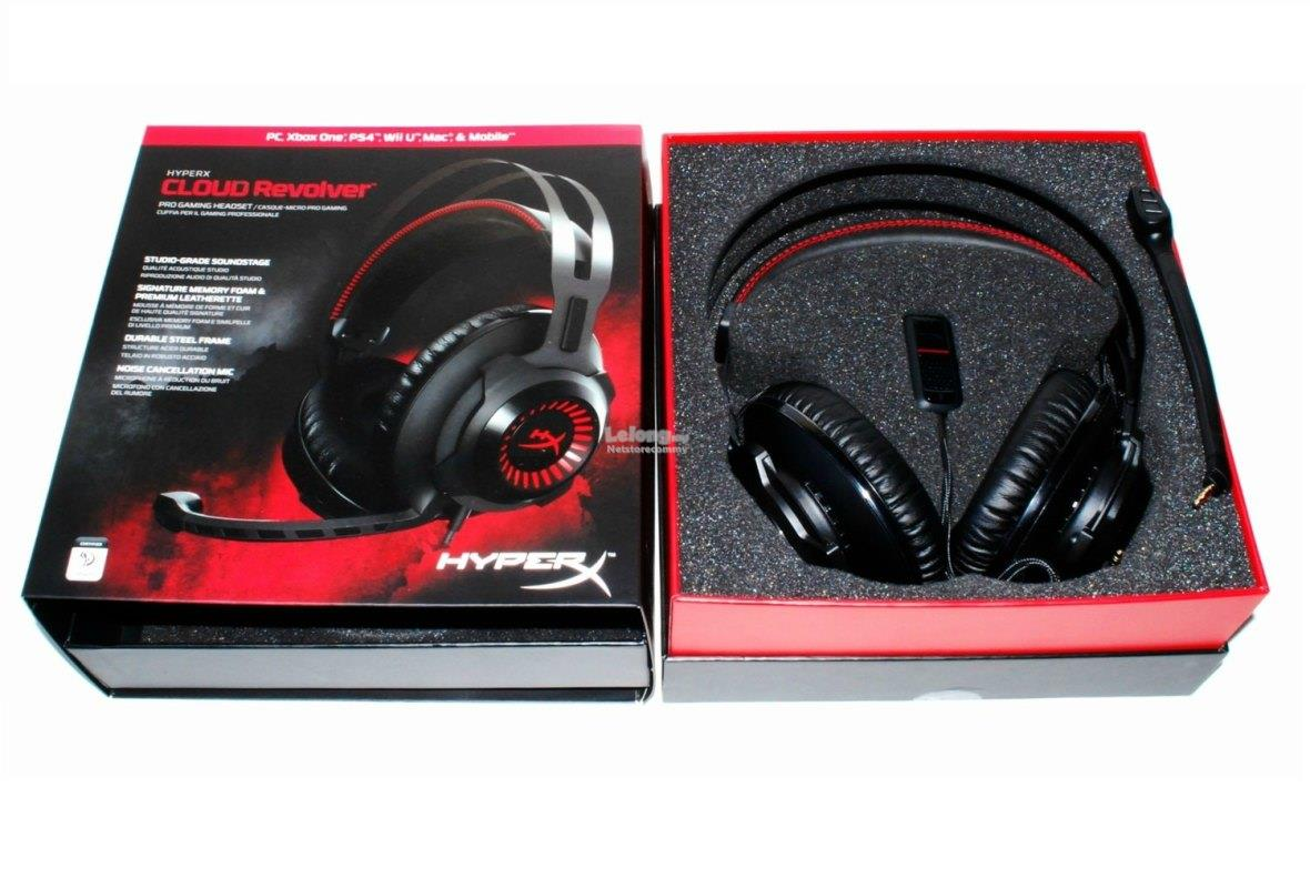 Kingston HyperX Cloud Revolver Noise Cancelling Studio Gaming Headset