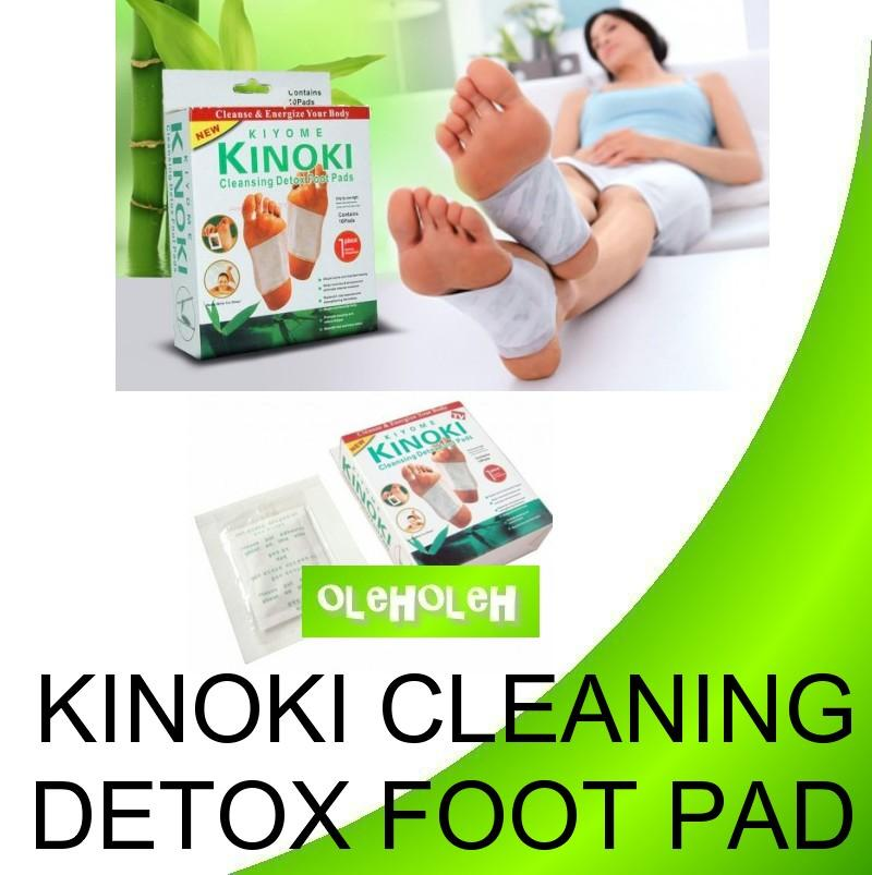 Kinoki Detox Cleansing Foot Pad Herbal Detox 10pcs/Box(5pair)