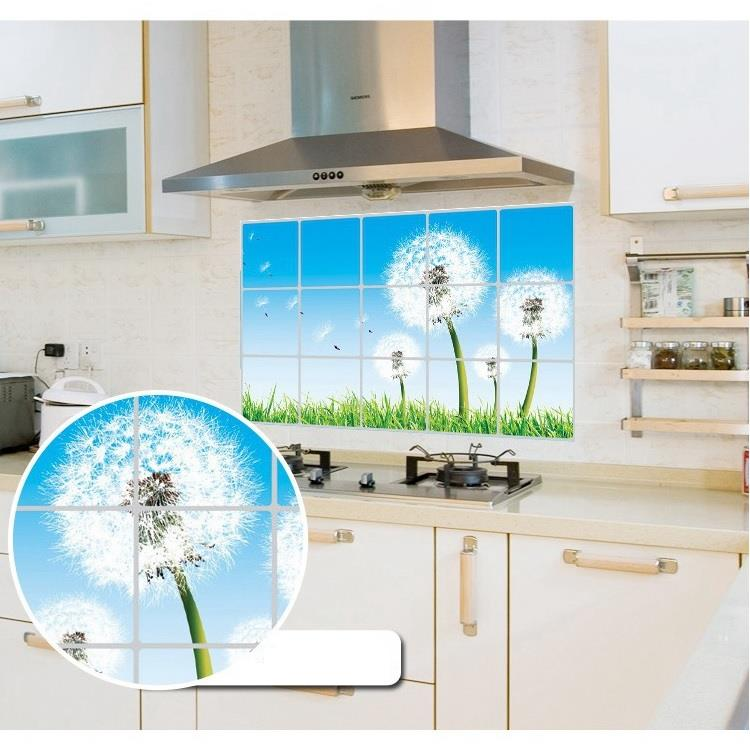 Kitchen Anti Oil and Water 3rd Generation Easy Removerble Wall Sticker