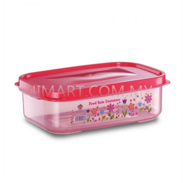 Kite Brand Floral Food Save Container Es2055F(R)