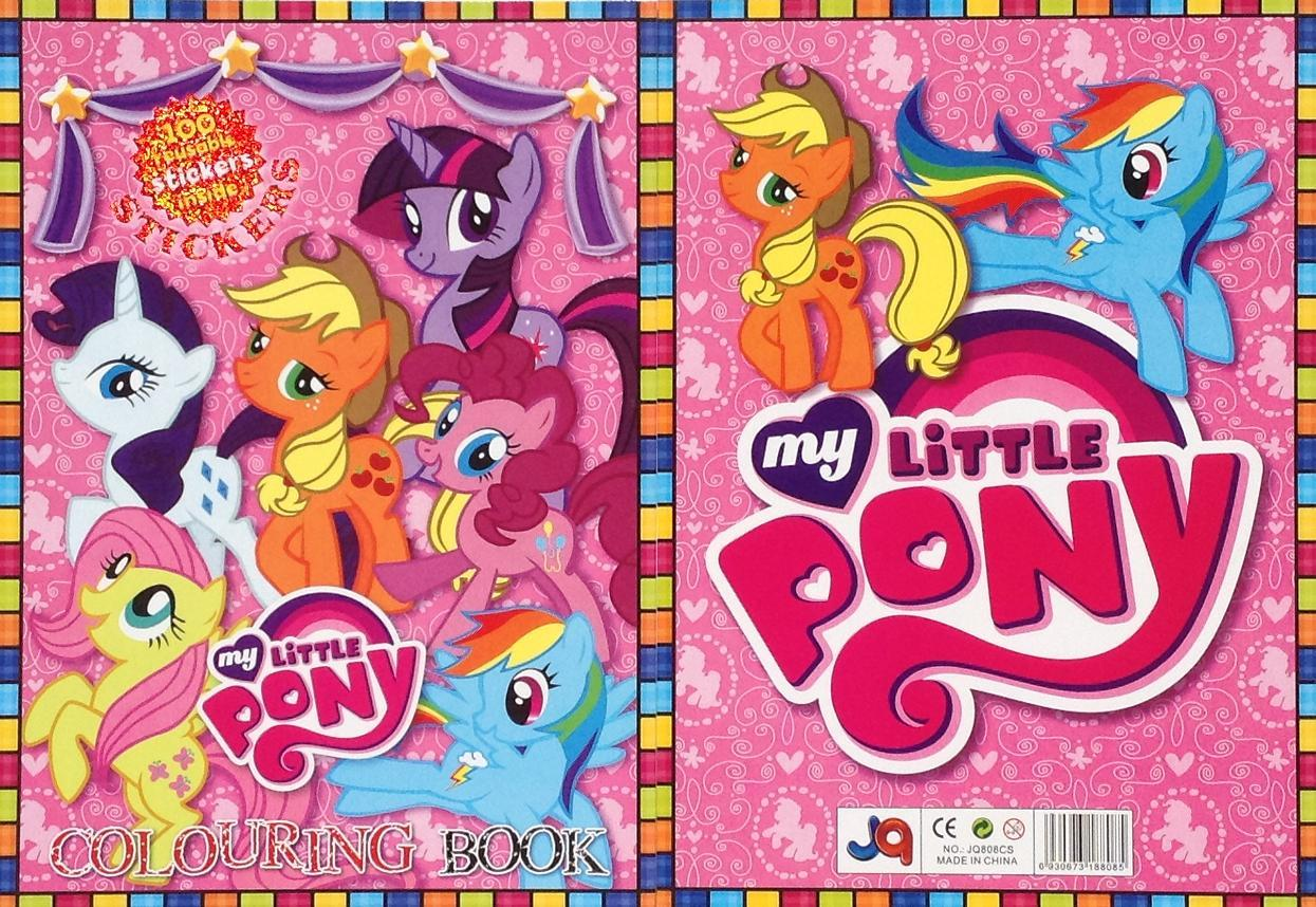 My little pony colouring in book