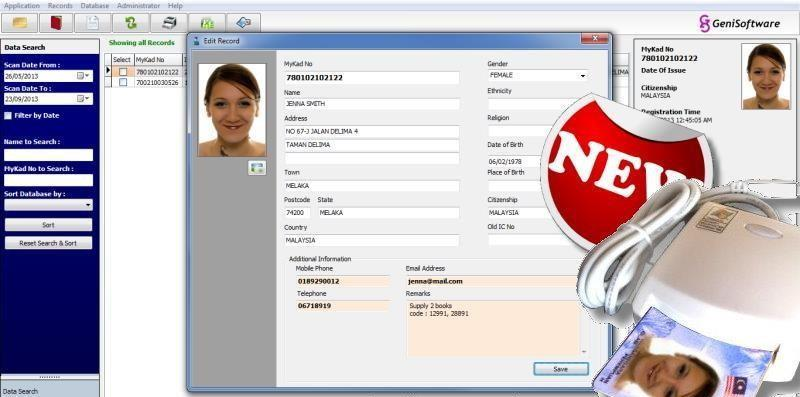KMS Member Registration Software (Free mykad smart card reader)KMS Mem