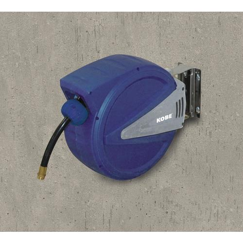 Kobe 6mm x 12M Retractable PU Air & Water Hose Reel