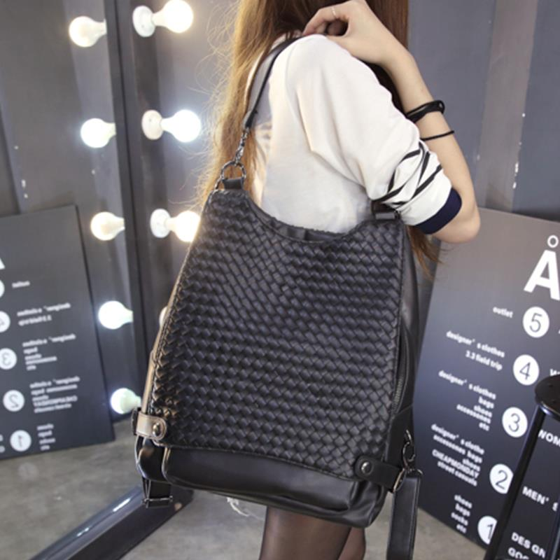 Korea Stylish Student Design Bag 33*34*14CM