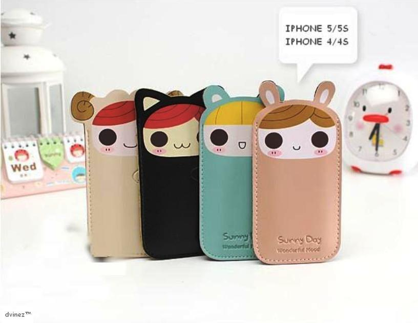 KOREAN DESIGN CUTE PHONE CARRY BAG (end 4/22/2018 10:15 AM)