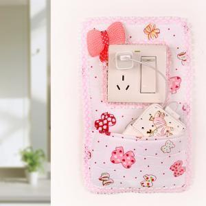 Korean Fabric Ribbon Switch Sticker (with small pouch)