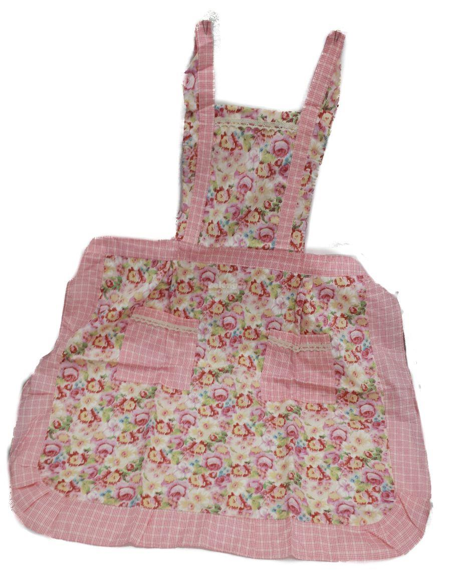 Korean Fashion Princess Floral Apron